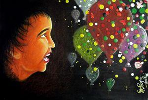Boy & his Baloons