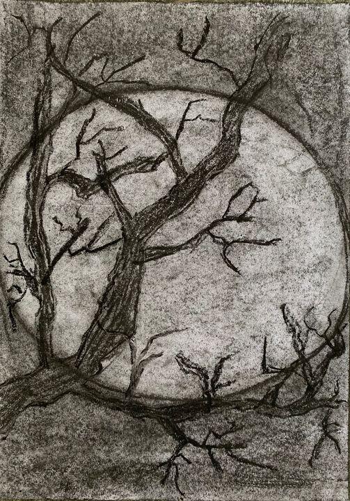 The dark moonlight's tree - Jahnavi Elango