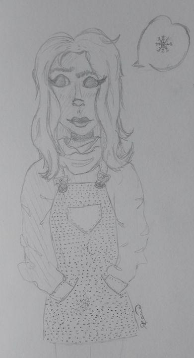 random sketch - KoaRieka