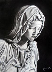 """Michaelangelo's """"La Pieta"""""""