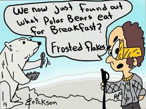 What do Polar's eat?