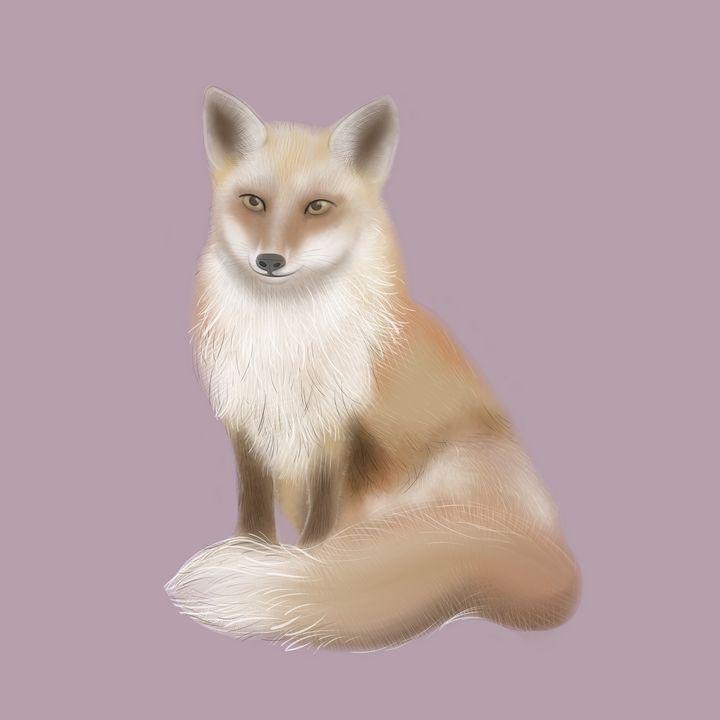 red fox - Lekatarino