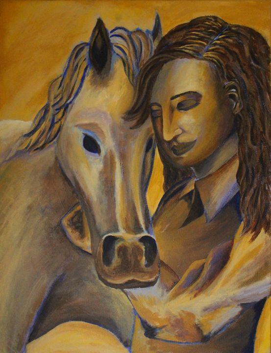 Arabian Dreams - Ashley Burriss Art