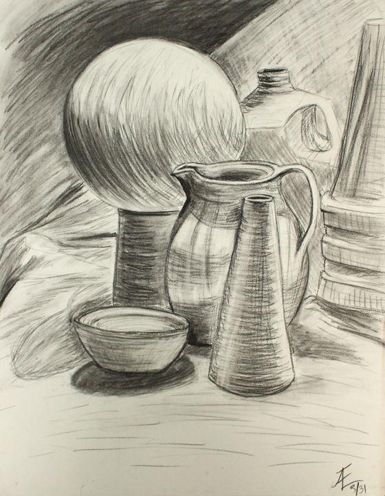 Still Life Study - Ashley Burriss Art