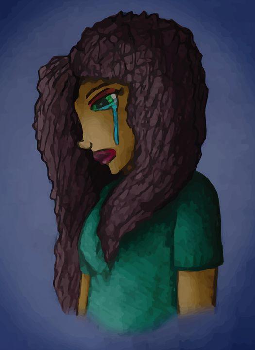 Crying Girl - FerretJAcK