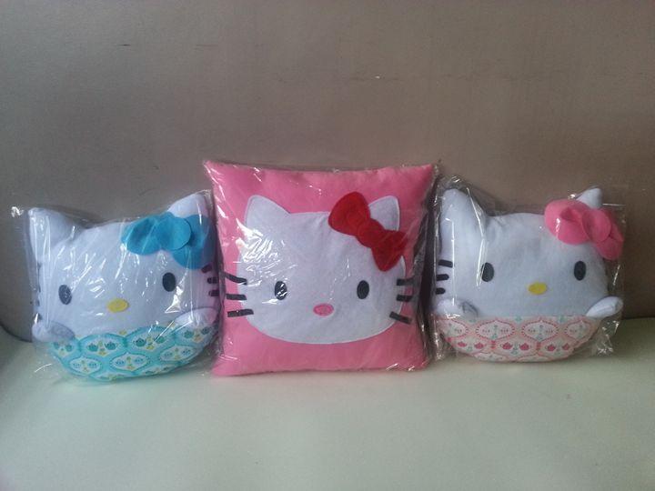 Handmade Kitten Fun Pillows - Creations by Nyanah