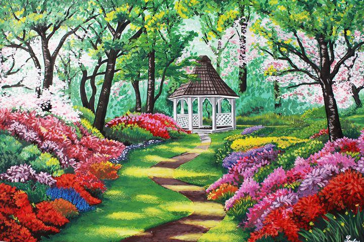 Enchanted Garden Gazebo - Creations by Nyanah