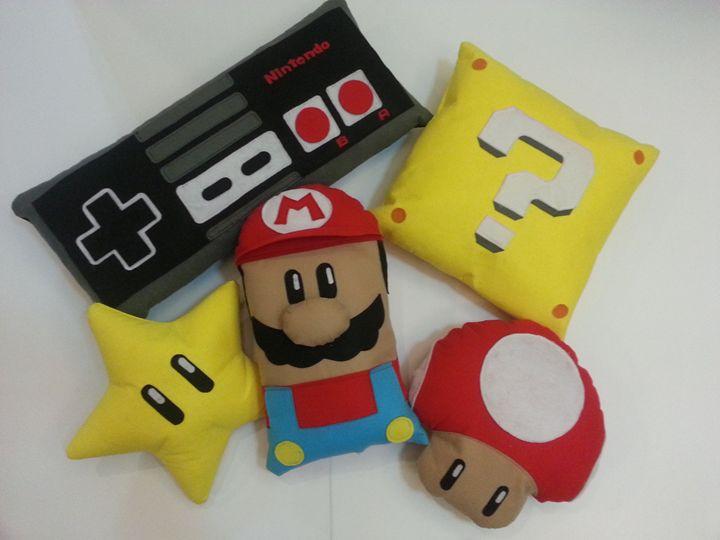 Handmade Fun Pillows - Creations by Nyanah