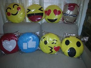 Handmade Emoji Pillows