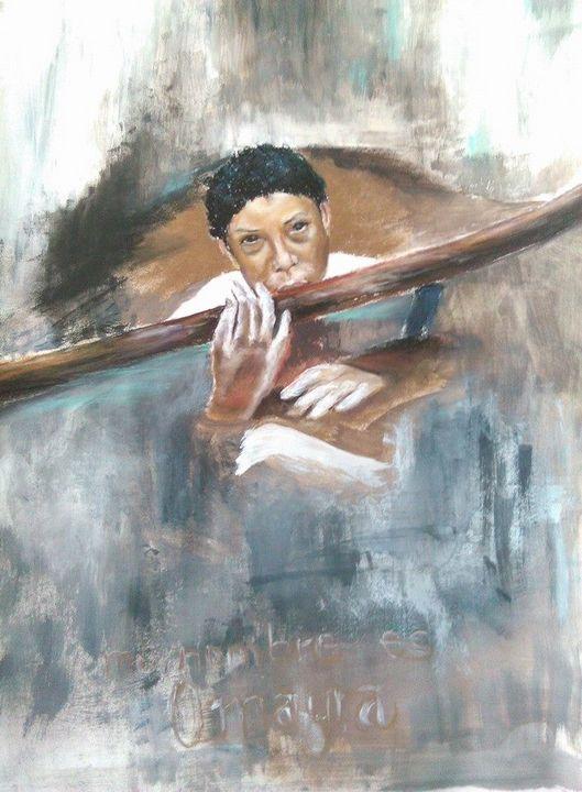 Mi nombre es Omayra - Gabriel's Fine Art Studio