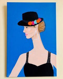 Woman in a Black Hat