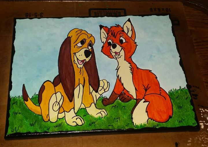 Fox and the Hound - An Artsy Eye