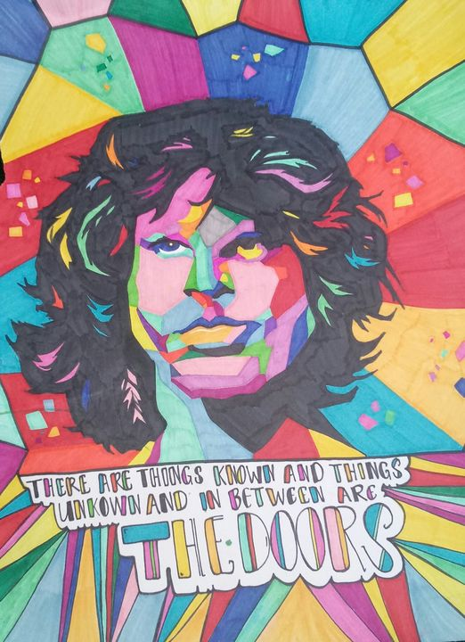 THE DOORS - Cheryls sharpie creations