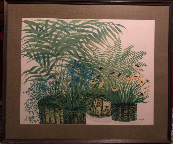 """""""Primavera"""" Fern Lithograph - Refounder"""