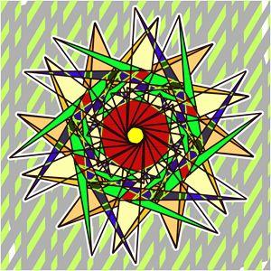 Abstract Pinwheel Triangles