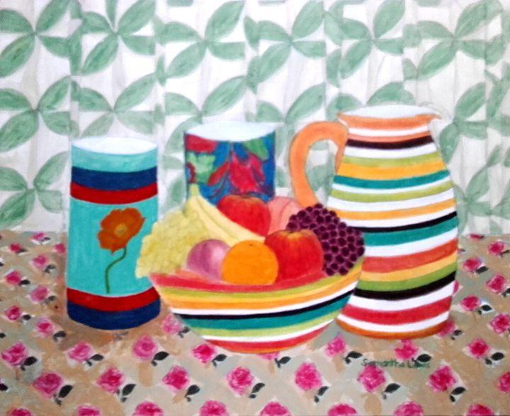 Table Top Fruit Arrangement - Samantha Lewis