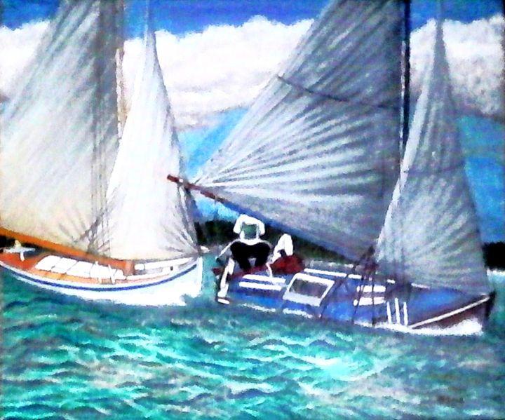 Sail Boats - Samantha Lewis