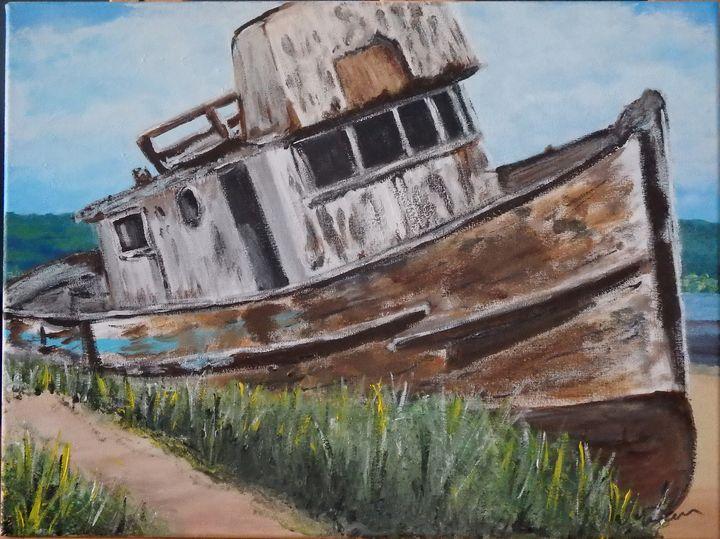 Abandoned boat - Neil Davies