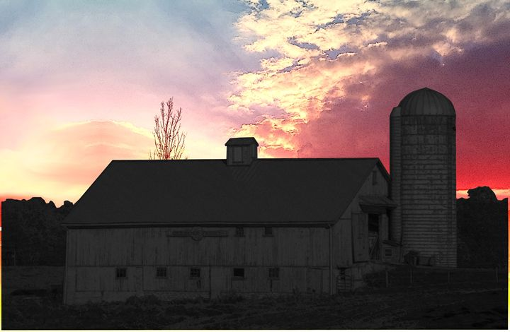 Sunrise at the Dairy - Covenant Images
