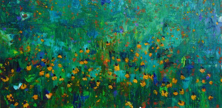 Field of Coreopsis - Mike Skiff Paintings