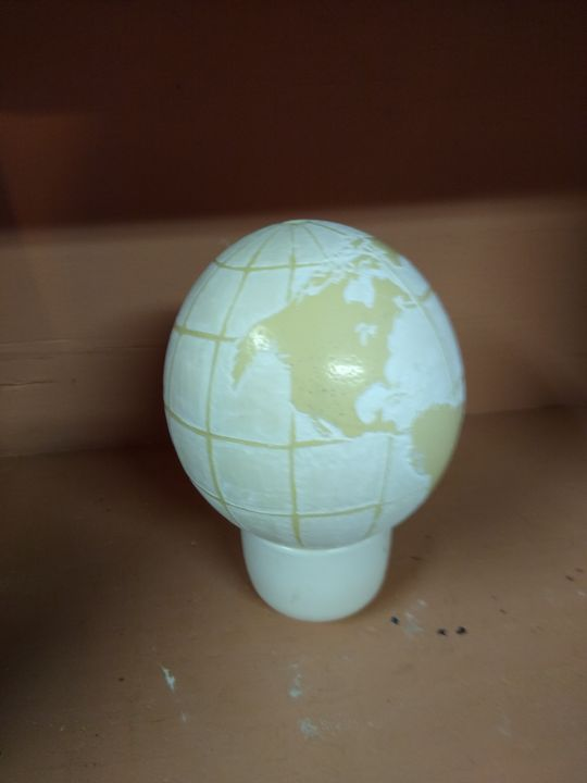 World Globe - Designs By Daphne