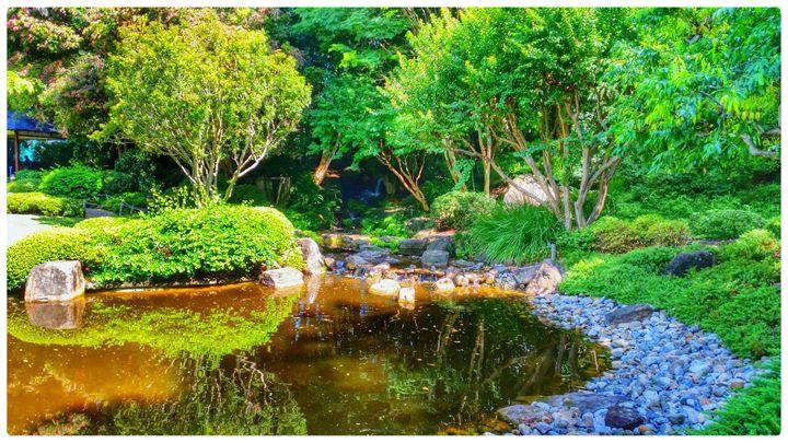 Secret Japanese Garden - ChuckWalker