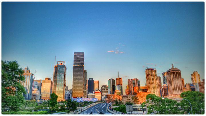 Brisbane City Skyline - ChuckWalker