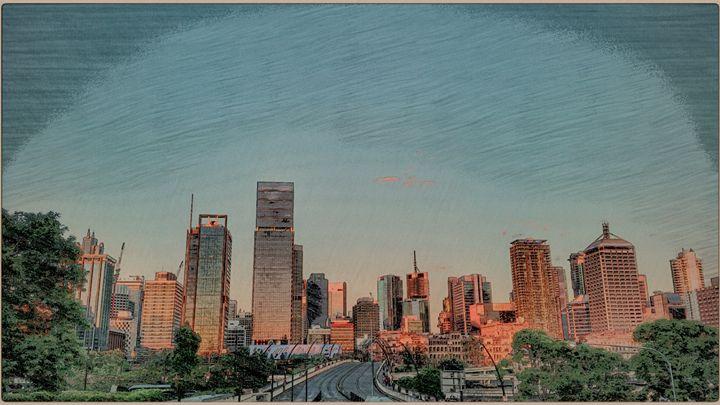 Stylised City - ChuckWalker