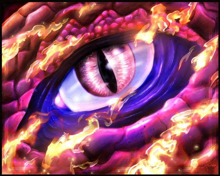 Dragon's Eye - HuckabaArt