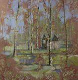 120x120cm, oil painting