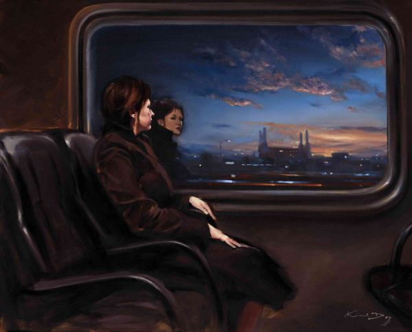 Train Dreaming - Collectable Art