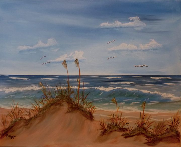 Dunes by theSea - rwoollett