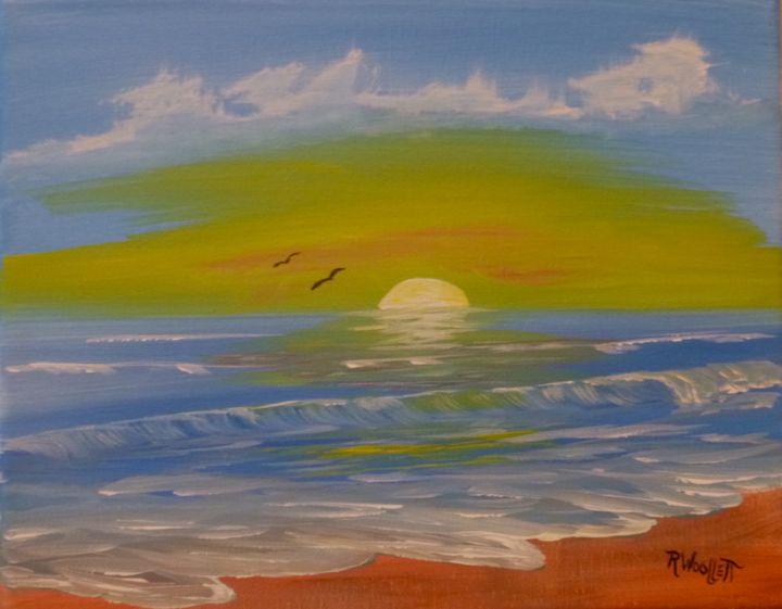 Ocean Sunrise - rwoollett