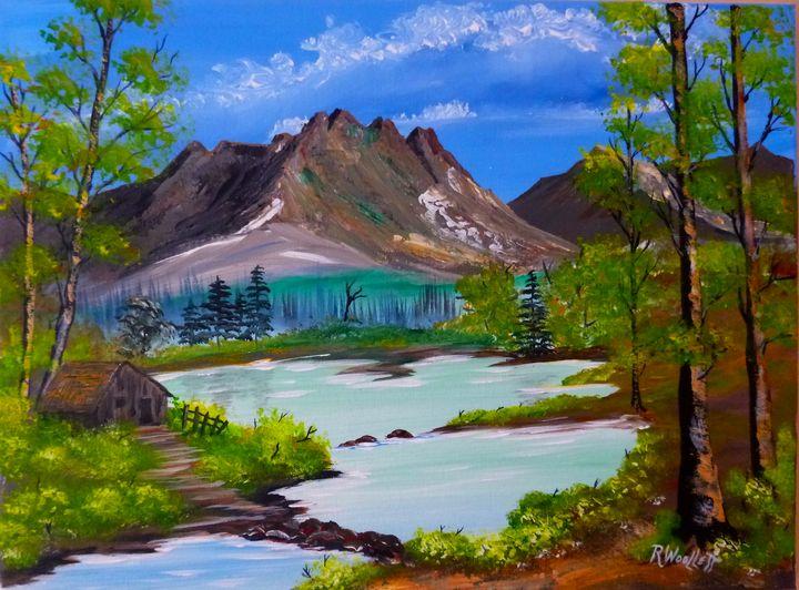 Pond in the Hills #! - rwoollett