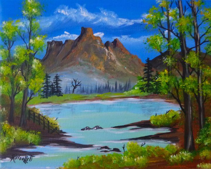 Pond in the Hills #2 - rwoollett