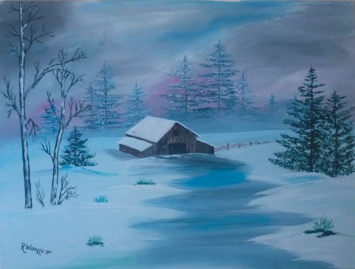 Winter Night - rwoollett
