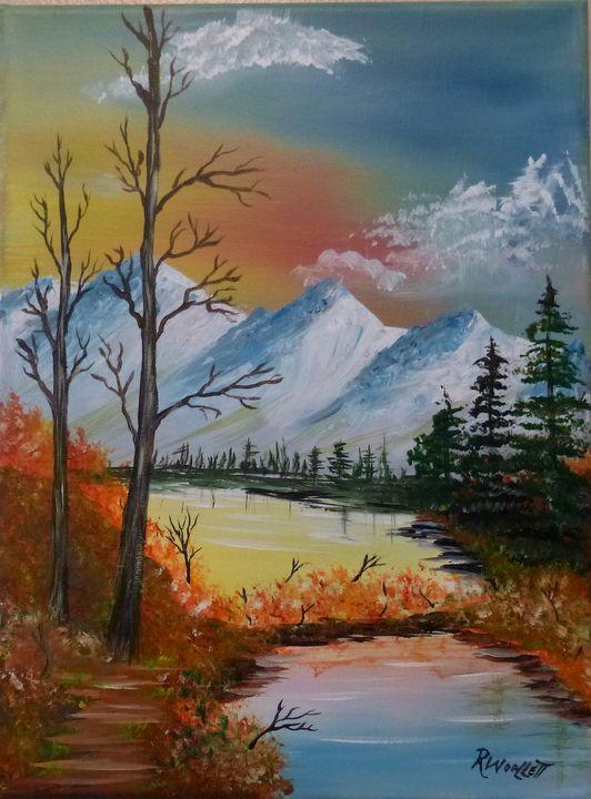 Pond in the Mountains #1.5 - rwoollett