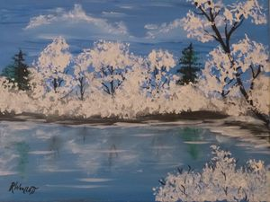 Snow Pond #2