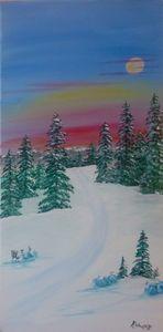 Path thru the Snow