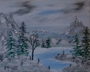 Winter in the Mountains #2
