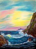Acrylic on canvas, 18 x 24