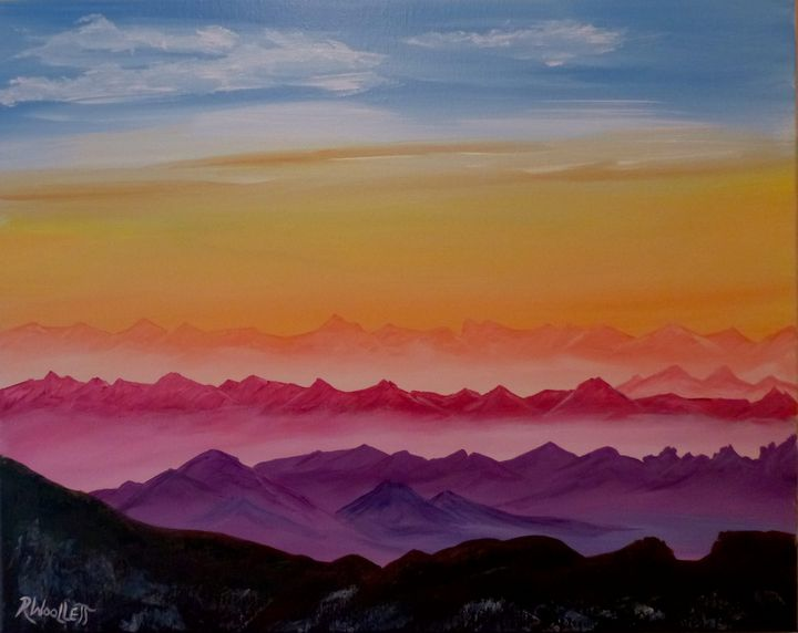 Colorful Mountains - rwoollett
