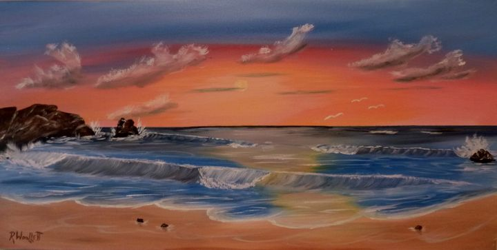 Seascape Panoramic #2 - rwoollett