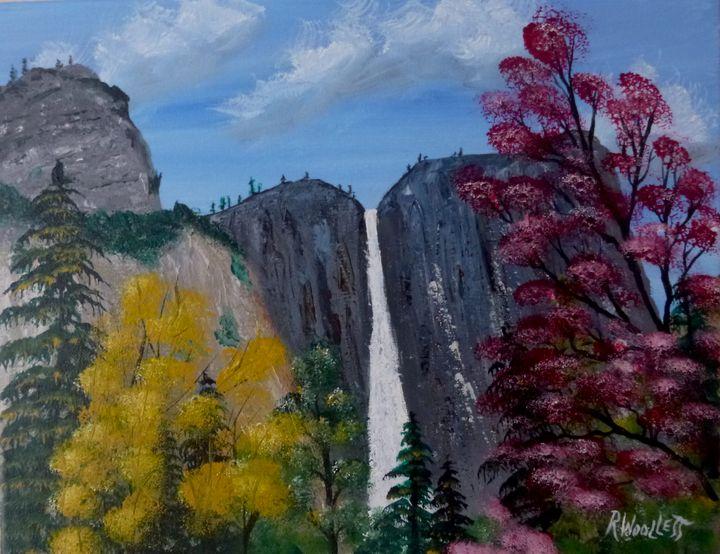 Yosemite, Upper Falls - rwoollett