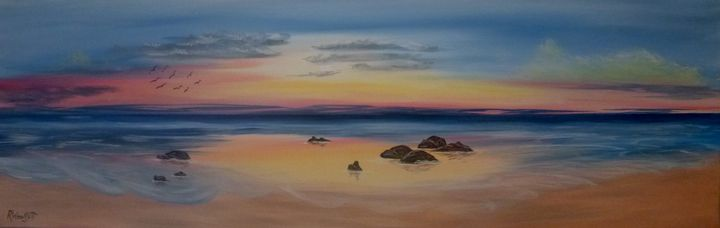Seascape Panaramic #3 - rwoollett