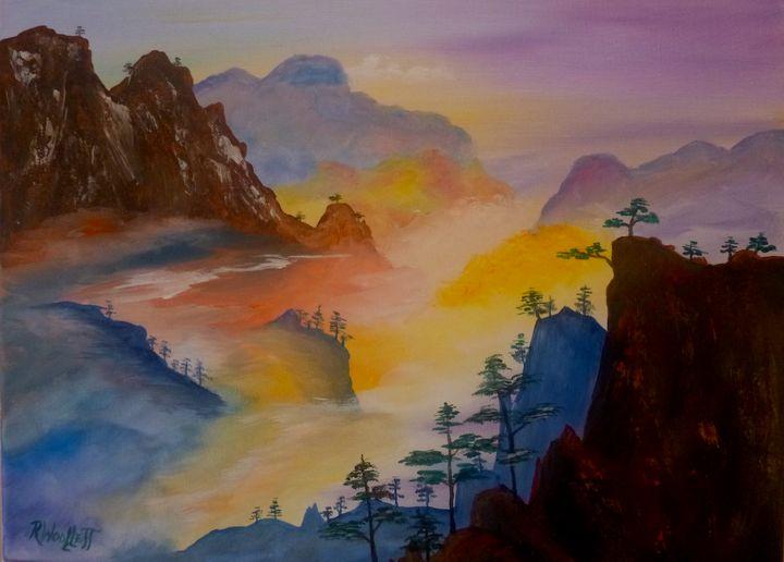 Cloud in the Mountains #1 - rwoollett
