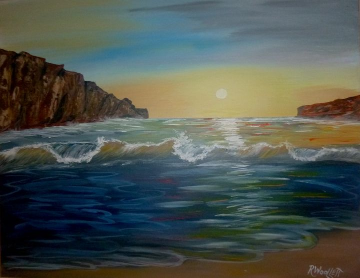 Sunrise in the Bay - rwoollett