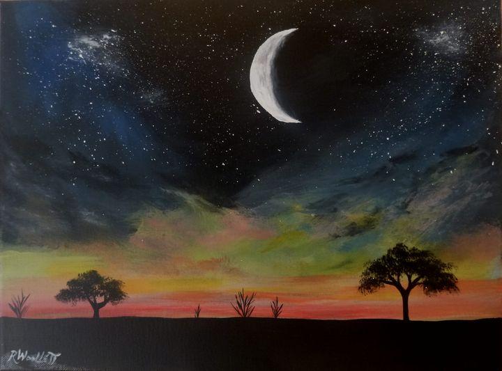 Crescent Moon #1 - rwoollett