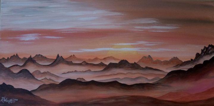 Orange Sunrise - rwoollett