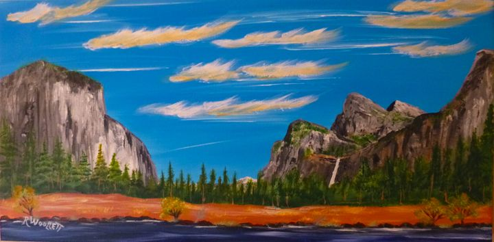 Yosemite--Valley View - rwoollett